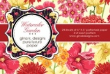 Pure Luxury Patterned Paper- By Gina K. Designs / by StampTV & Gina K. Designs
