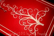 Embossing Techniques / by StampTV & Gina K. Designs