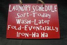 Laundry / by Samantha Thompson