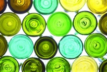 green green glass of home / by Laura Denney-Lawson