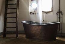federal rustic - bath
