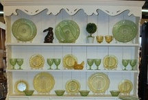 china cabinets / by Laura Denney-Lawson