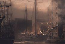 Pirates & Ships & mermaids