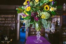 Floral Arrangements / These arrangements were designed for a myriad of purposes, and flipping through them paints of picture of what Kim Starr Wise Floral Events can do.