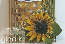 June 2014 Release / Projects created using Gina K. Designs stamps release in June 2014.
