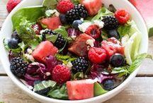 Salad Recipes / salads, salad greens, green salads, healthy salads
