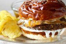 Vegan Sammies, Burgers & Pizza / by Tonia Clark