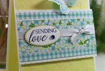 Sending Love StampTV Kit / Projects featuring the new Sending Love StampTV Kit, available at www.ginakdesigns.com.