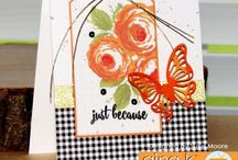 May 2016 Release / These are projects made using our May 2016 release stamp sets at www.ginakdesigns.com.
