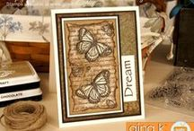 July 2016 Release / Projects made using the new July 2016 new release stamps from www.ginakdesigns.com.