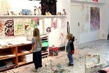 Educar en la belleza / Proporciones de la naturaleza, colores brillantes y actividades creativas para niños