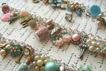 Jewelry / I love jewelry, especially handmade or upcycled and all kinds of charms.