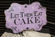 Let them eat cake / Cake, frosting, birthday, dessert, fruit, chocolate, zebra, polka dots, pink, red, green, blue, carrot, fudge, white, yellow, poke, pudding, cool whip,