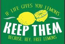 Pucker  Up / Lemon, pies, bars, cookies, juice, drinks, sweet, fruit, sugar scrub, cake, bread, muffins, breakfast, dessert
