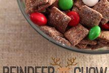 Muddy Buddy Snacks / Mix, snack, chocolate, vanilla, peanuts, cereal, chez, sugar, candy, popcorn,