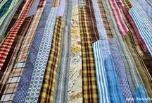 Quilt ~ String / #Quilts made with #strings, #strips and #scraps.