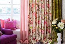 Curtains  / Creative, handmade ideas for window coverings, curtains, drapes, blinds and privacy.