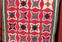 Quilt ~ Antique / #Artistic, #design and #color #inspiration from #Antique or #Vintage #quilts and #fabric.  Happy Sewing! (See my other #quilt boards too)