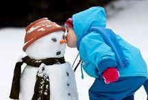 Snowmen ❄ melt my heart / Snow, cold, freezing, outside, winter, roll, snowman, frosty