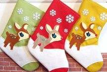 Christmas Stocking / Christmas stockings are my new favorite things to collect.