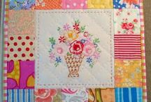 Quilts ~ Mini / I would rather make a mini quilt than anything else right now.