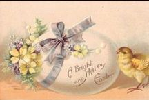 Vintage easter and ideas / by Carolyn White