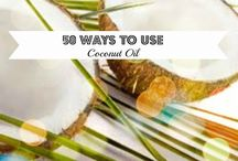 Coconut Oil / I love finding new ways to use coconut oil.