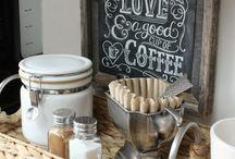 Coffee bars / Coffee, bars, country, modern, espresso, cups, cream,