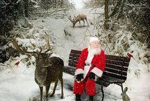Old Saint Nick / Santa Claus, Christmas, Jolly, Spirit, Giving,