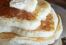 Flipped Out / Pancakes, morning, meal, fruit, clean, paleo, syrup, chocolate, oatmeal, butter,