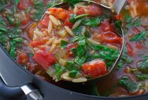 Chili & Soups / Warm, soup, chili, vegetable, tomatoes, delicious,