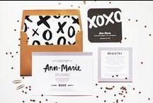 design: invitations + cards