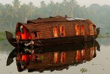 Kerala, South India @ www.allseasonscruise.com / Explore the magical Kerala on a traditional Houseboat by All Seasons Cruise & Tours