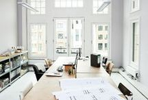 work spaces / by Sarah Scussel / Design Me Daily