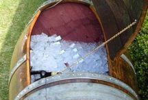 Wine Barrel Crafts