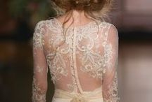Sheer back / by Rigorosamente Sposa
