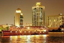 Dhow Cruise Dinner / Dhow cruise dinner in Dubai is a special feast for you and your loved ones. Enjoy exotic evening and buffet dinner in a five star super luxury wooden cruise. Explore Dubai with us http://www.iconicdubai.com/.  Call us + 971 506 085 867 or email info@iconicdubai.com for further details.