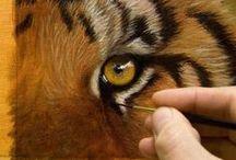 Art - how to paint wildlife Video