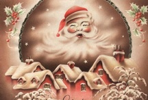 Christmas-Vintage Prints / by Colleen Whale