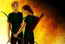 Hunger Games/Catching Fire/Mockingjay<3 / by Savannah Atkinson