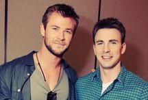 Hemsworth/Evans<3 / by Savannah Atkinson