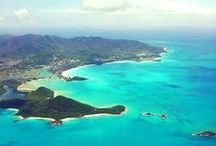 Antigua & Barbuda / Travelers worldwide are drawn to Antigua, the largest of the British Leeward Islands, for its powdery, white sand beaches, sail-worthy trade winds, and gorgeous snorkel and dive friendly coral reefs, to name a few.