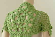 Crochet - Boleros, Shrugs, Vests, or short-sleeved jackets / by Alicia Frieberg