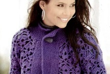 Crochet - Sweaters, Jackets, Coats / by Alicia Frieberg