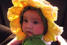 Crochet - Baby & Childrens, costumes, toys, & cute stuff / by Alicia Frieberg