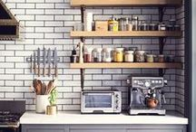 Home Kitchens / Kitchens of all sorts- internal and external. Places to cook and cooking equipment. The 'hub' of the home- a place to gather and chat whilst working happily.