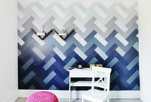 Home- Wall Decor / Wallpaper, paint, wall features.