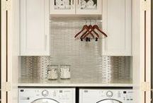 Home- Launder / Lovely places to do the laundry along with great ideas for cleaning up.