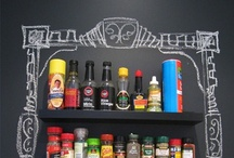 Chalkboard Paint / It's a chalkboard jungle out there.