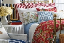 Bedroom Inspiration / colours and decorating inspiration for my new home - bedroom